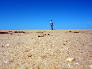 Desert alone